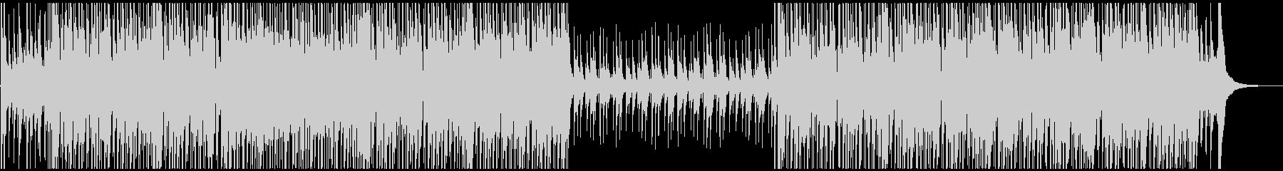 ウクレレがコミカルでかわいい楽しいBGMの未再生の波形