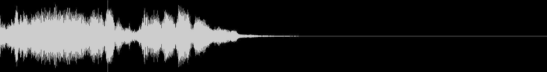 Monster 未知の生物の発する音声1の未再生の波形