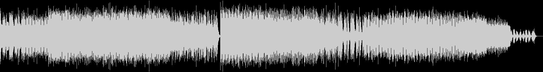 重厚でクールなエレクトリックサウンドの未再生の波形