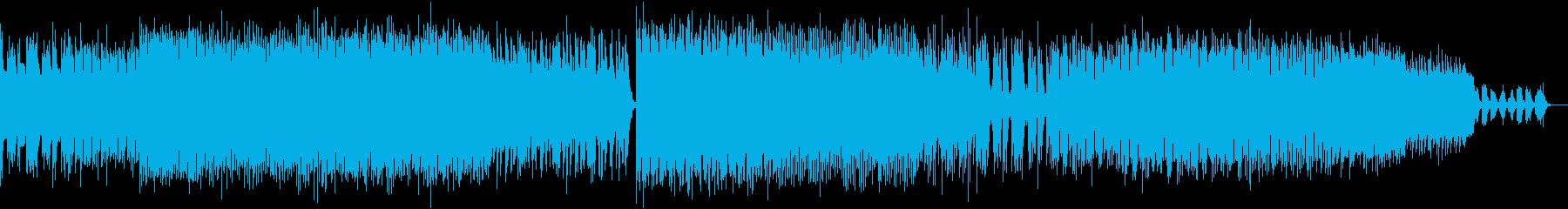 重厚でクールなエレクトリックサウンドの再生済みの波形