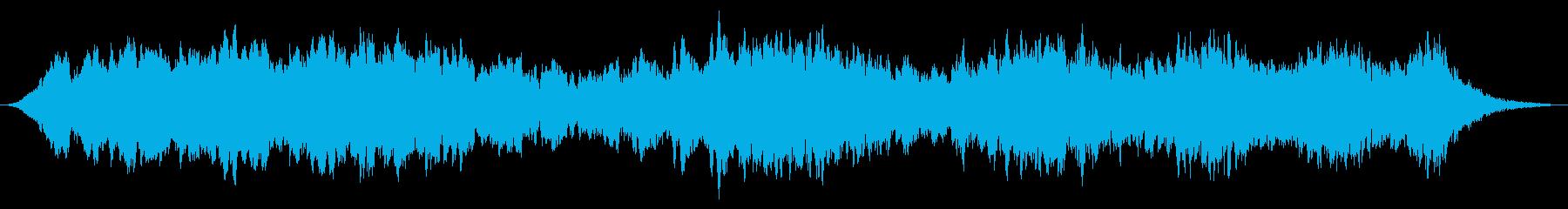 スローライジングターボシンセの再生済みの波形