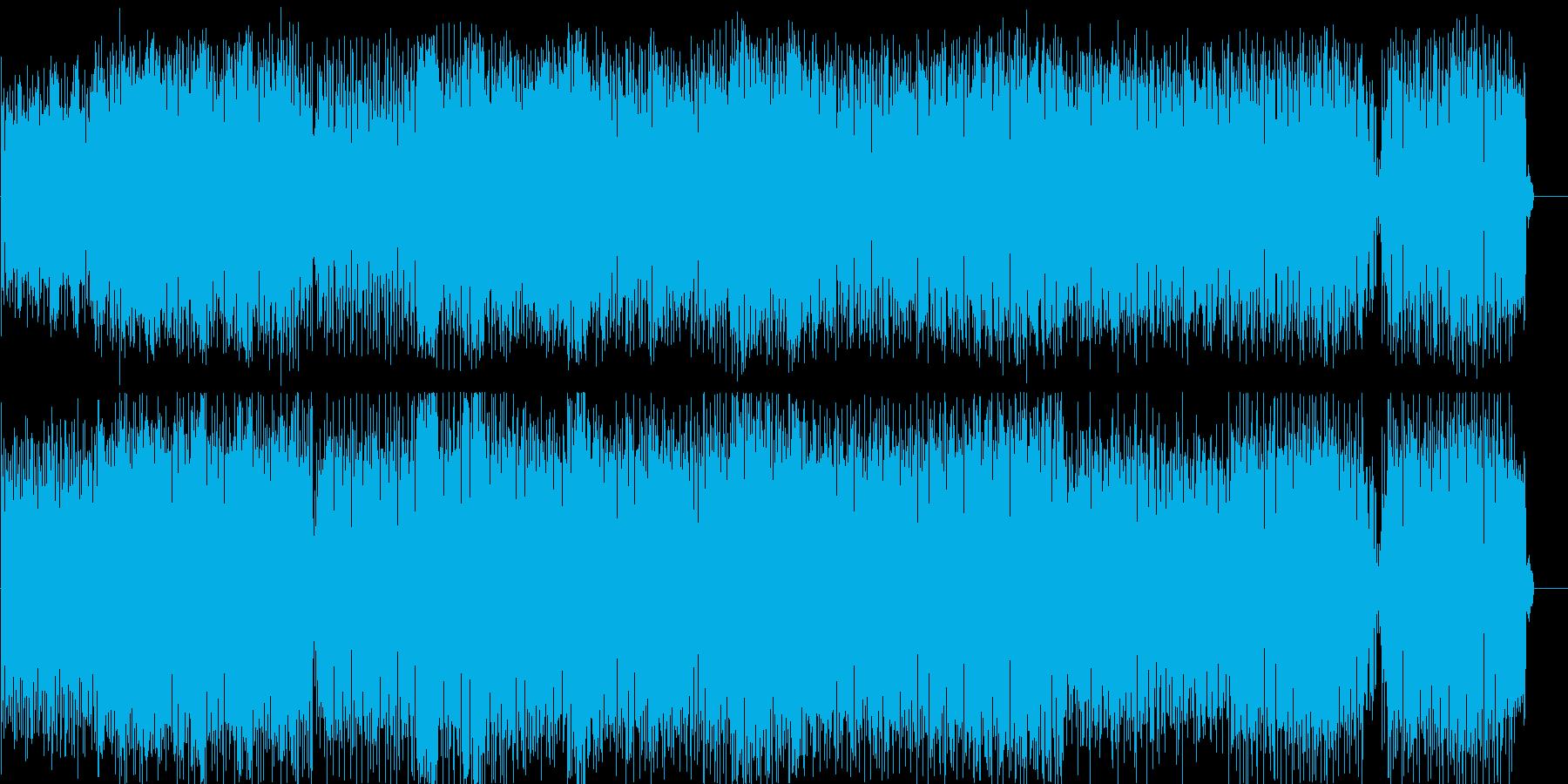 ディスコ 淡々 流行 都会 夜の再生済みの波形