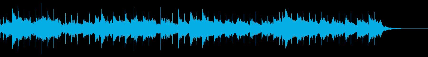 大正琴、日本の伝統雰囲気、映像、CM等。の再生済みの波形