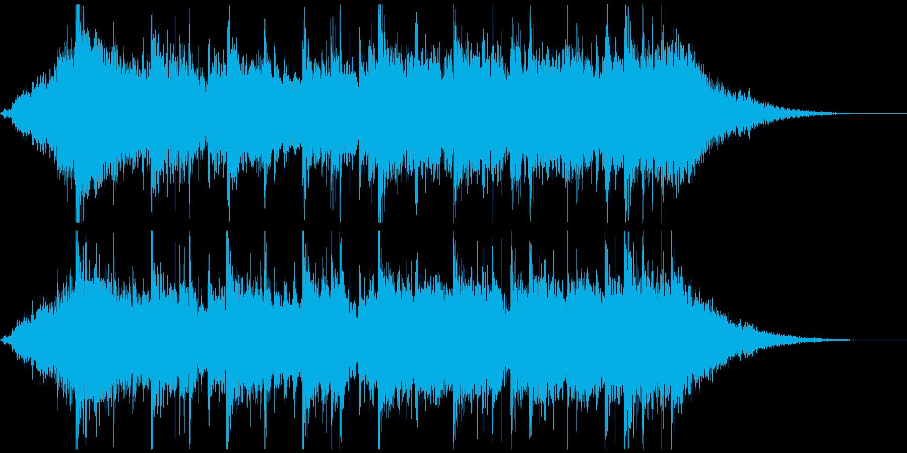 琴、尺八、三味線、切なく壮大な和風30秒の再生済みの波形
