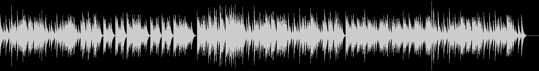 三拍子のオルゴールの未再生の波形