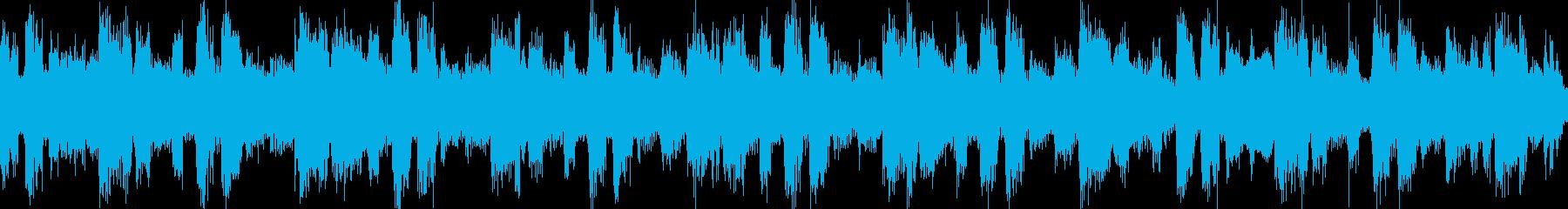 ループ:重い雰囲気のシーケンス16secの再生済みの波形