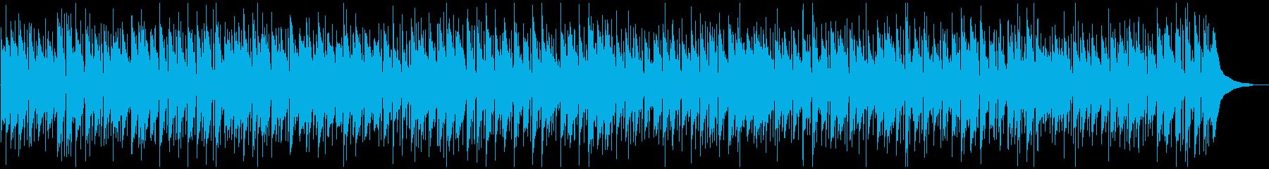 優しいカントリーバラードの再生済みの波形