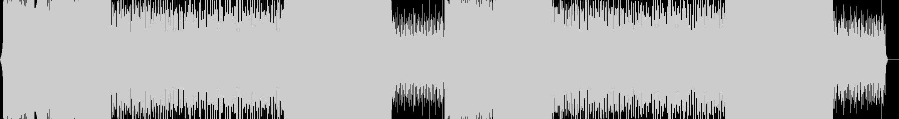 SFな雰囲気のオーケストラ/テクノの未再生の波形