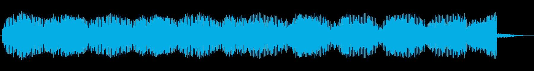 電動ホープリムーバー、マシン、パル...の再生済みの波形
