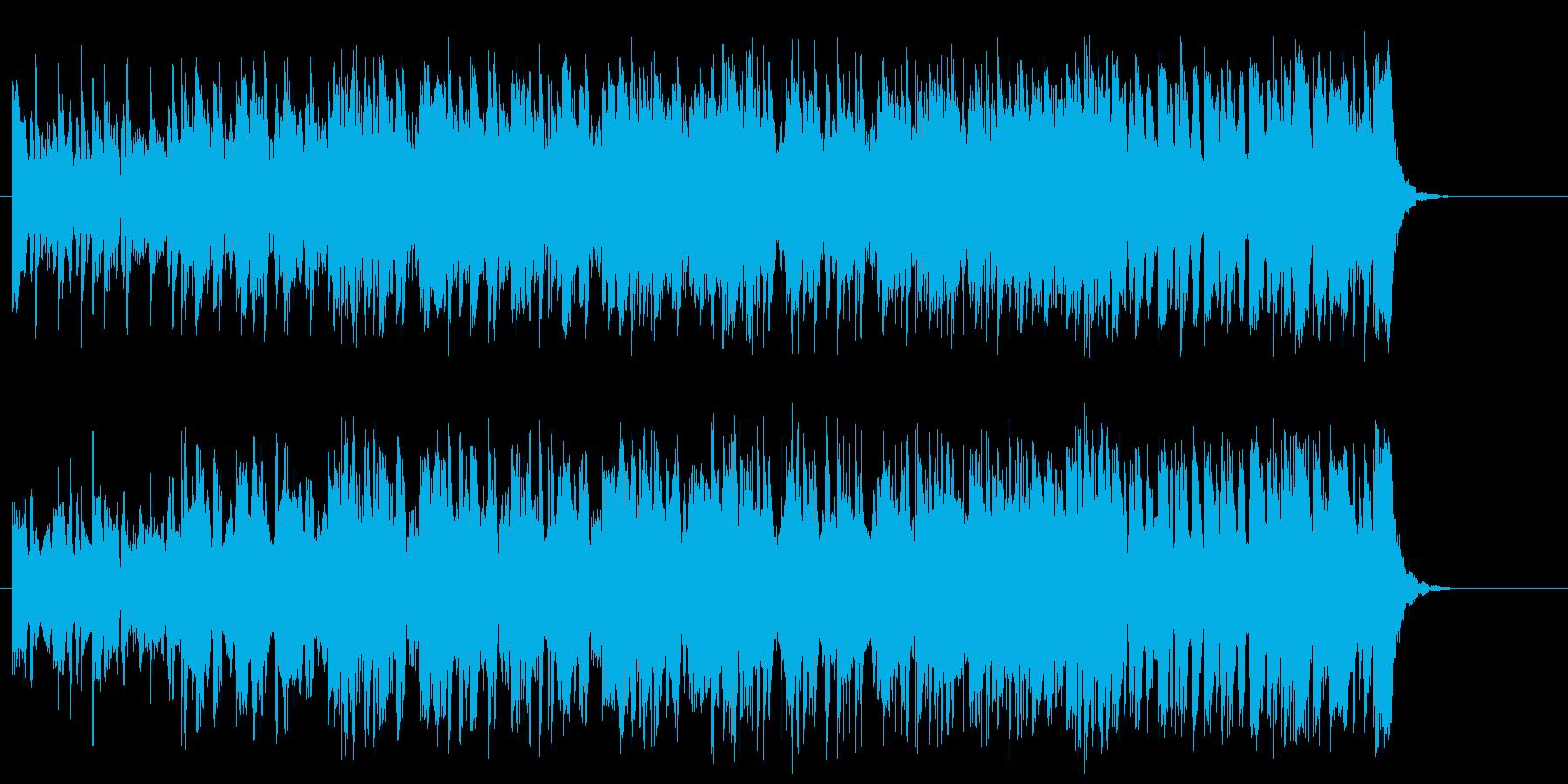 男気溢れる演歌調ポップの再生済みの波形
