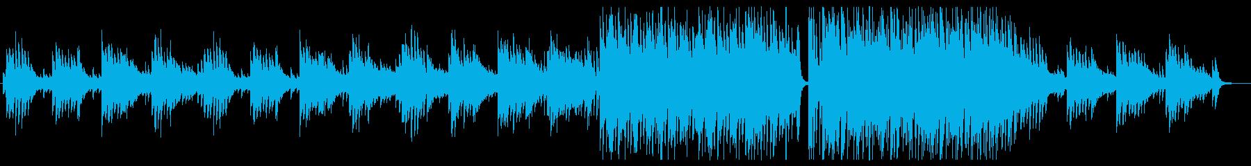 ピアノのメロディーが切ない曲の再生済みの波形
