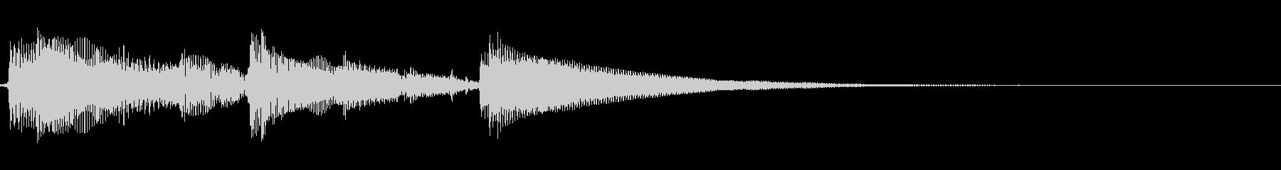 ★アコギ生音のジングル/シンプルの未再生の波形