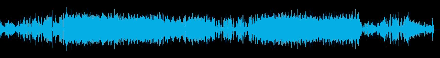 生演奏ギターによるポップロックの再生済みの波形