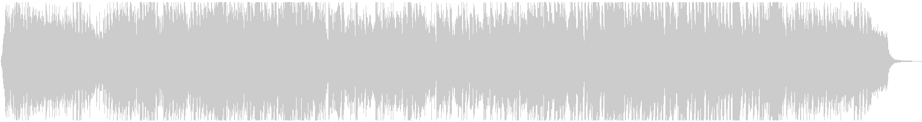 Cheerful and bright cute anime POP's unreproduced waveform
