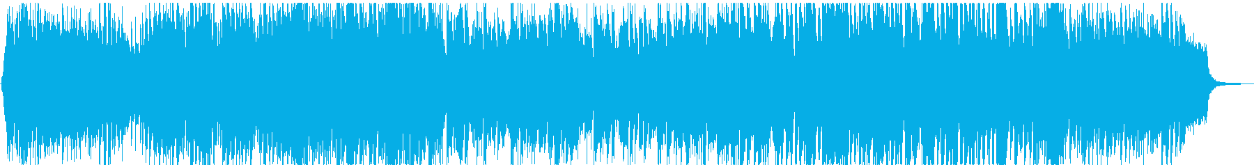 Cheerful and bright cute anime POP's reproduced waveform