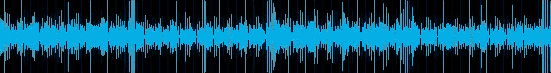 和風フューチャーベースEDM爽やか琴尺八の再生済みの波形