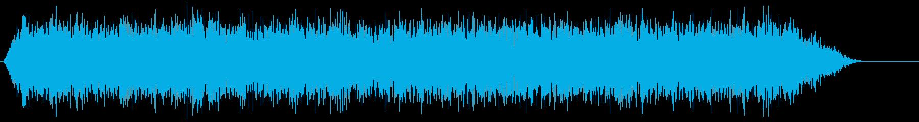 スペース6グースバンプの再生済みの波形