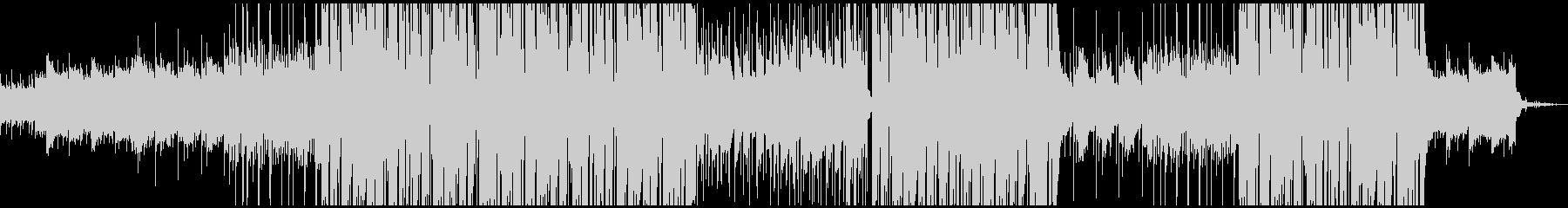 ローファイ感のあるトラップビートの未再生の波形