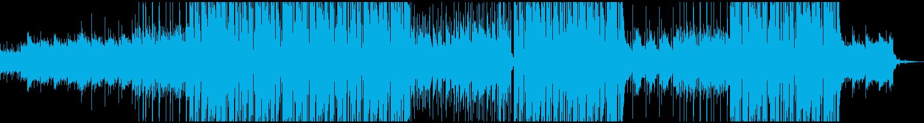 ローファイ感のあるトラップビートの再生済みの波形
