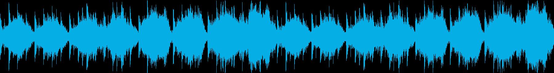感動系宇宙っぽいエピックサウンドの再生済みの波形