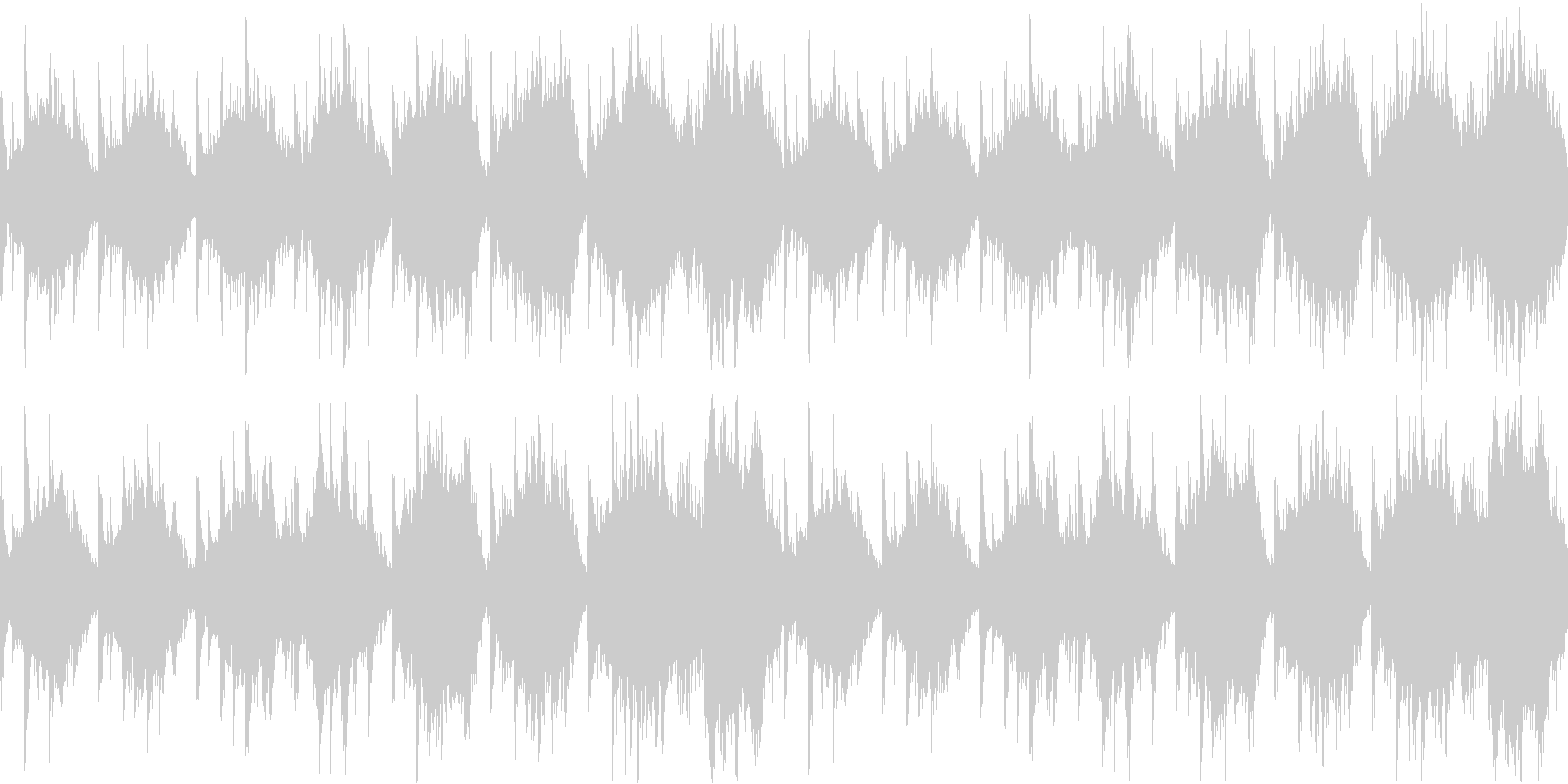 Space Core12の未再生の波形