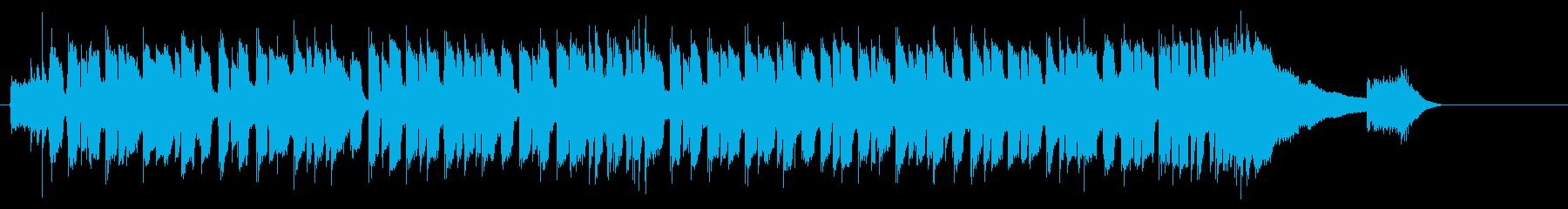 ちょっとコミカルなブルースの再生済みの波形