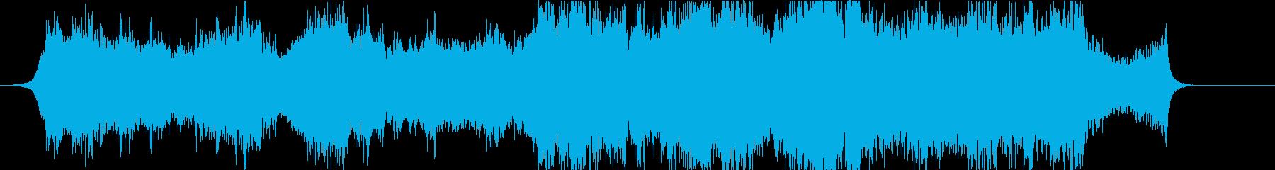 映画、壮大泣ける感動オーケストラハーフaの再生済みの波形
