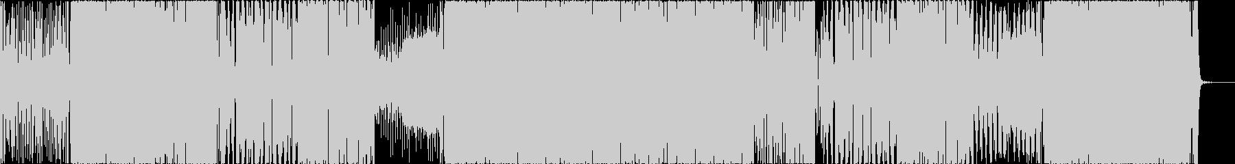 EDM フォートナイト風 バトル 戦闘の未再生の波形