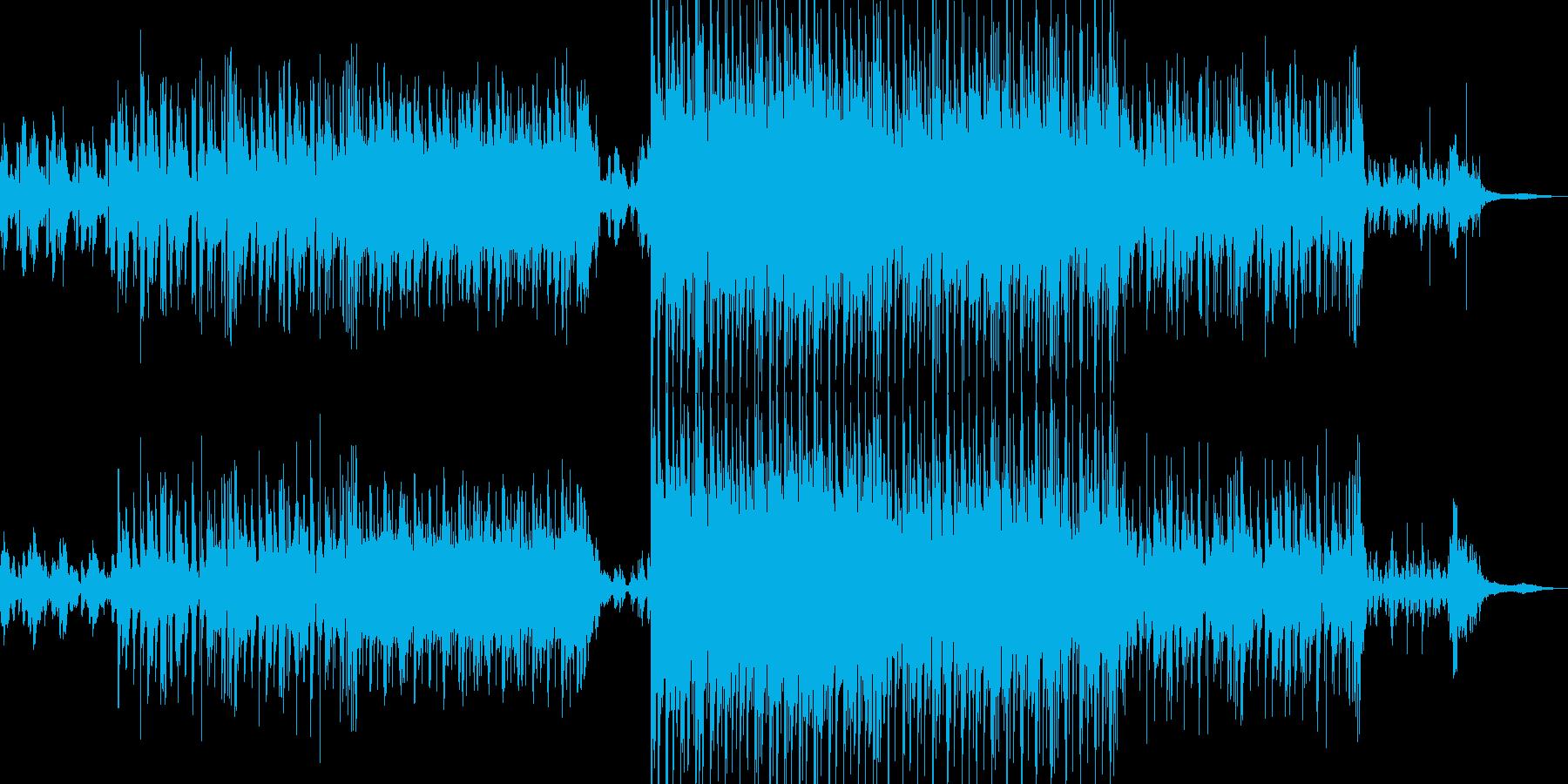 深海系テクノポップの再生済みの波形