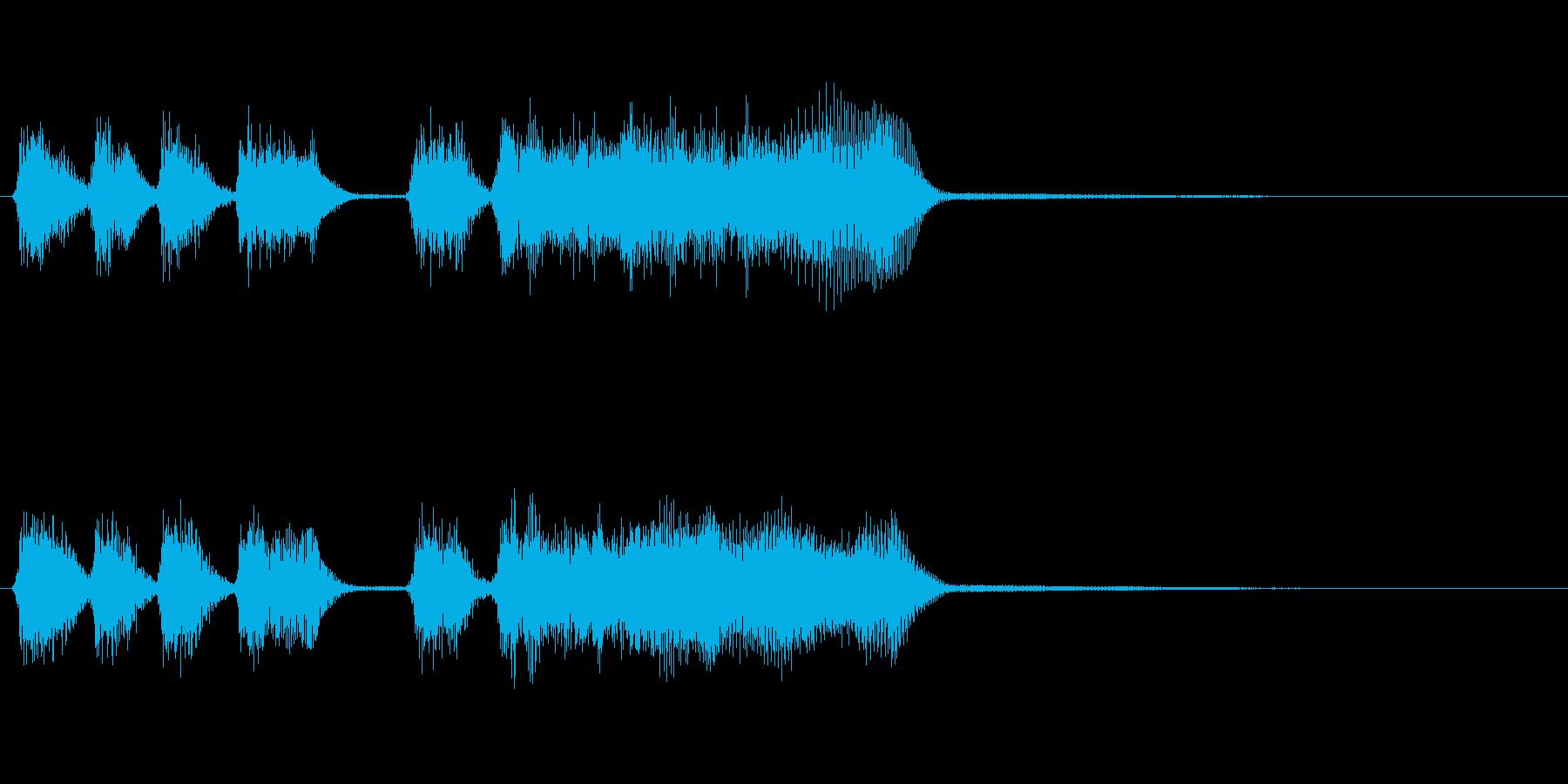 玩具系ファンファーレ-08の再生済みの波形