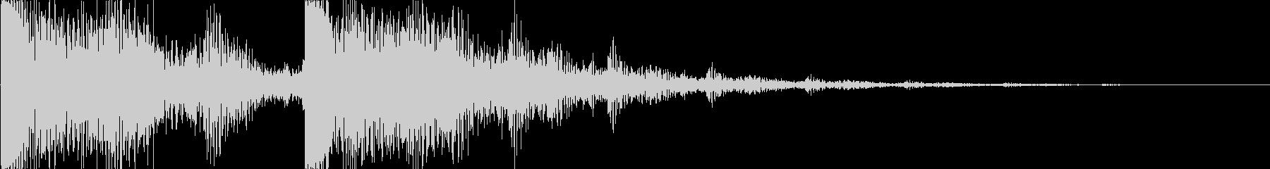 ゲーム(アイテム入手、決定音、セーブ)等の未再生の波形