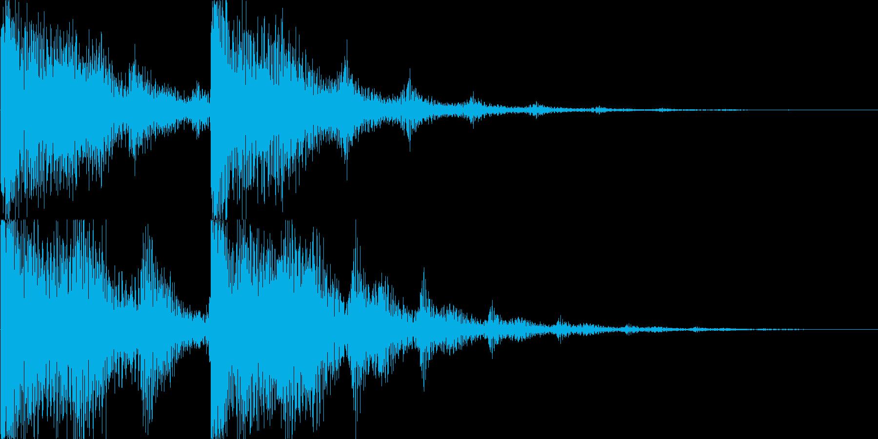 ゲーム(アイテム入手、決定音、セーブ)等の再生済みの波形