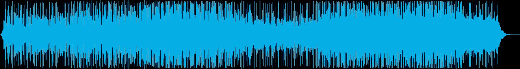 爽やかで希望溢れるプロモーション曲の再生済みの波形