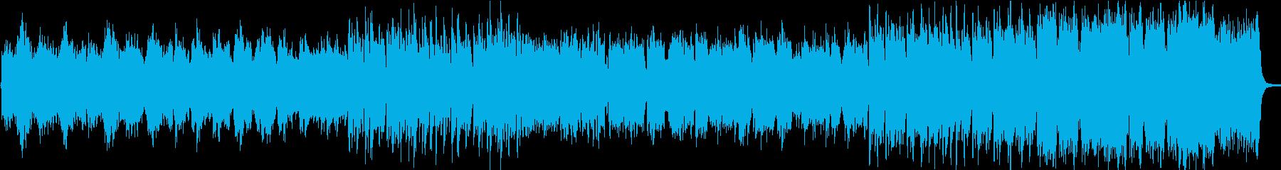 和風ファンタジーで歴史ものBGM向きの再生済みの波形