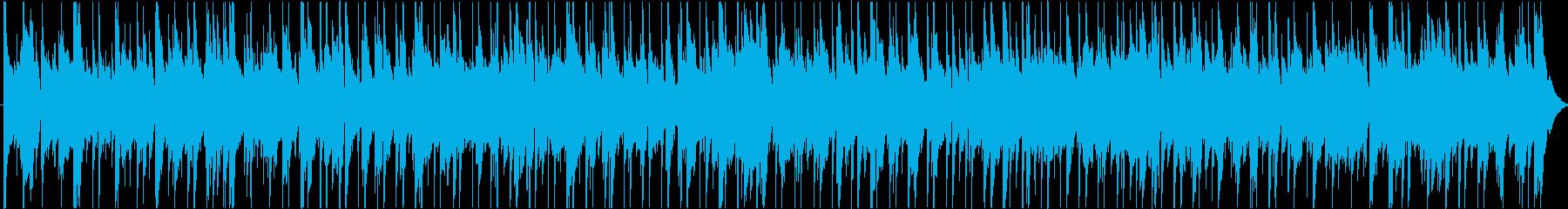 ハワイをイメージしたバラードの再生済みの波形