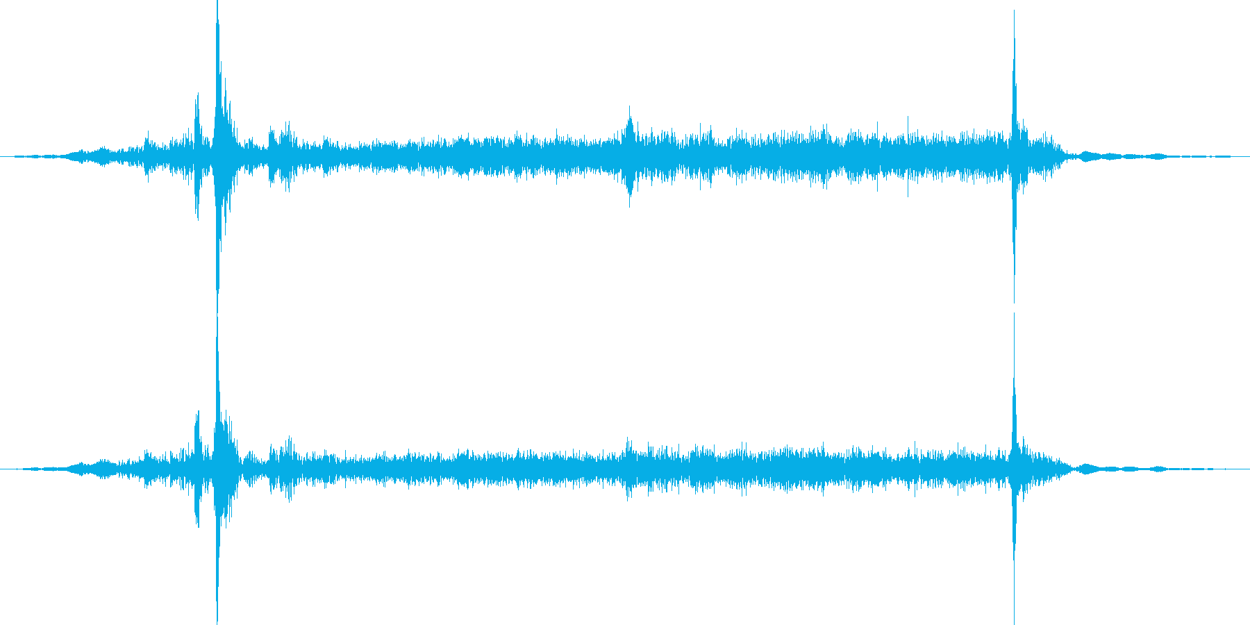 ディスクを取り出すの再生済みの波形