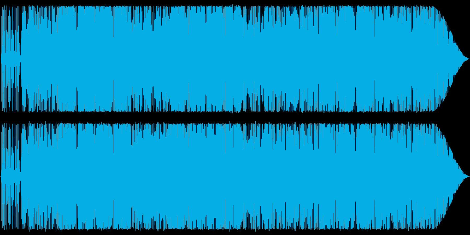 スラップベースを印象的に!の再生済みの波形