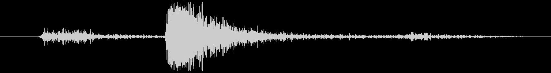 擬音 インパクトシートメタルブライト01の未再生の波形