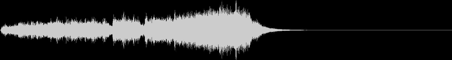 オーケストラ  ファンタジックなジングルの未再生の波形
