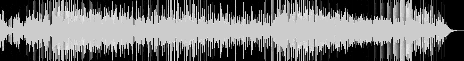 軽快なリズムに怪しげなリフが印象的な曲の未再生の波形