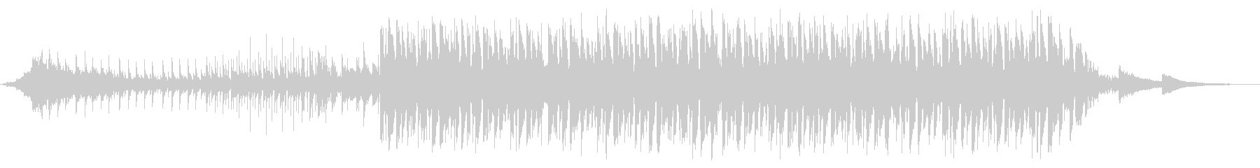夏 海 ハウス 声ネタ無し60秒版の未再生の波形