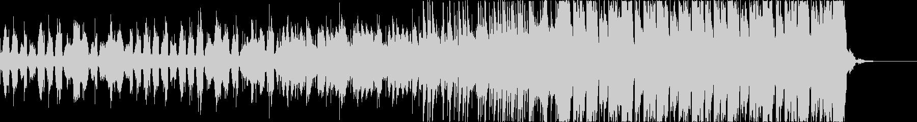 チルアウトおしゃれなトロピカルハウスbの未再生の波形