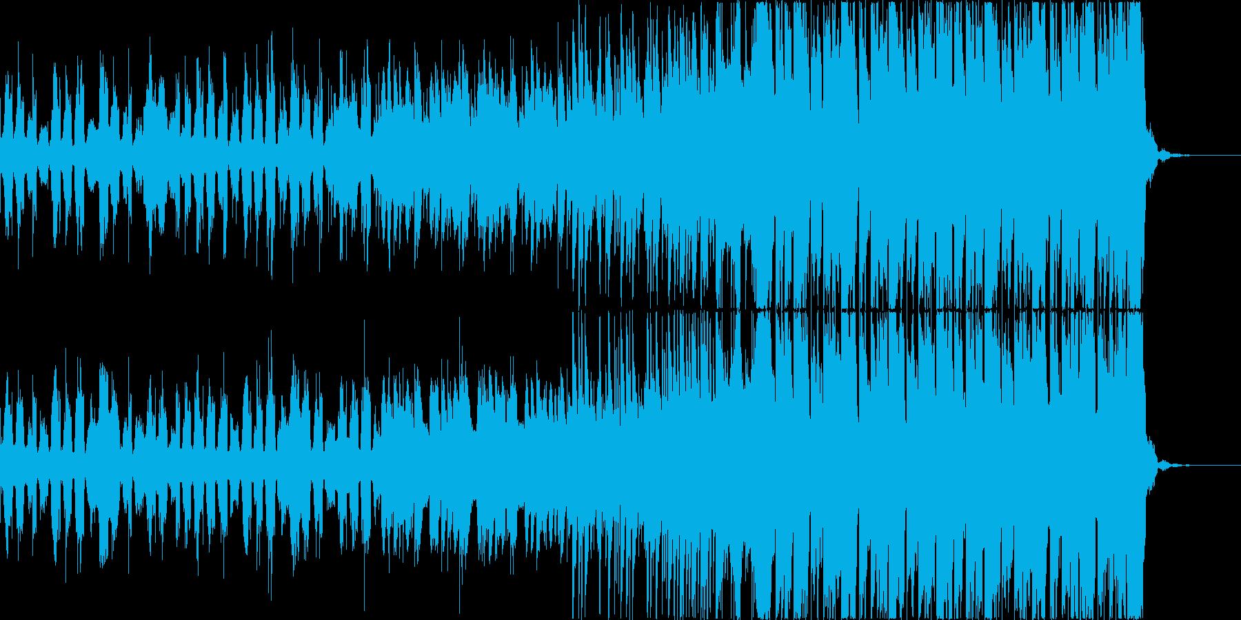 チルアウトおしゃれなトロピカルハウスbの再生済みの波形