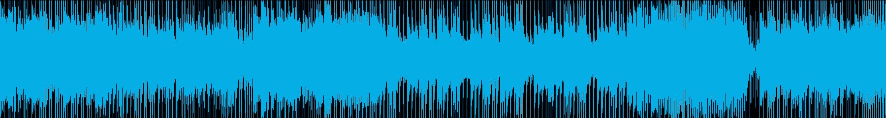 ロック/激しい/重い/疾走感/ループの再生済みの波形