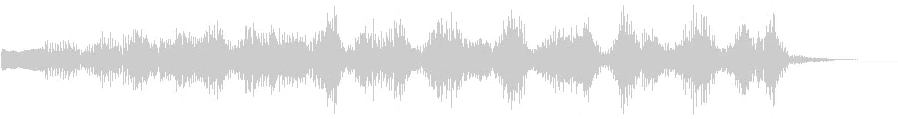 KANT考えてる時の音効果音08311の未再生の波形