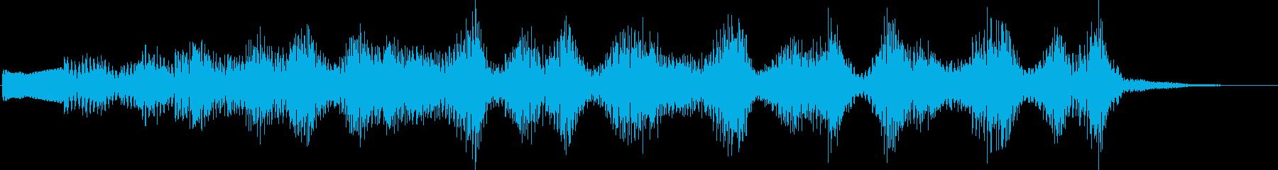 KANT考えてる時の音効果音08311の再生済みの波形