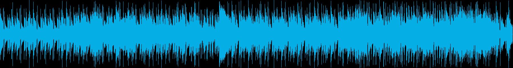 彷徨&印象スラップベースフュージョンの再生済みの波形