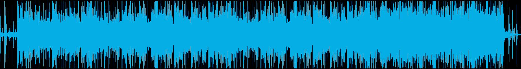 ミクスチャー系Hiphopループの再生済みの波形