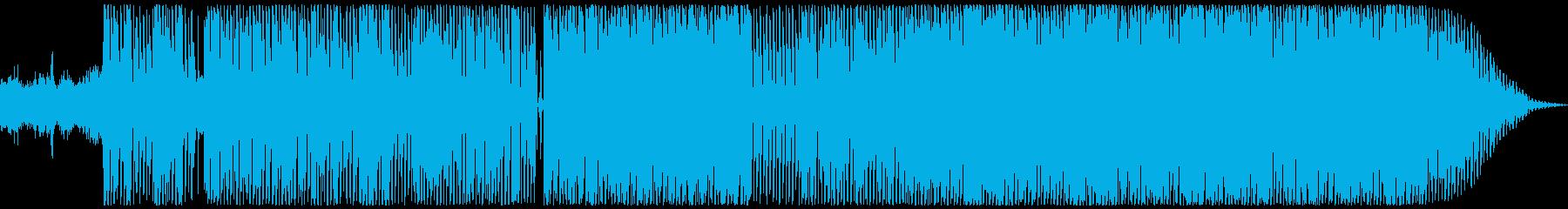 エレクトログルーブはハウスビートと...の再生済みの波形