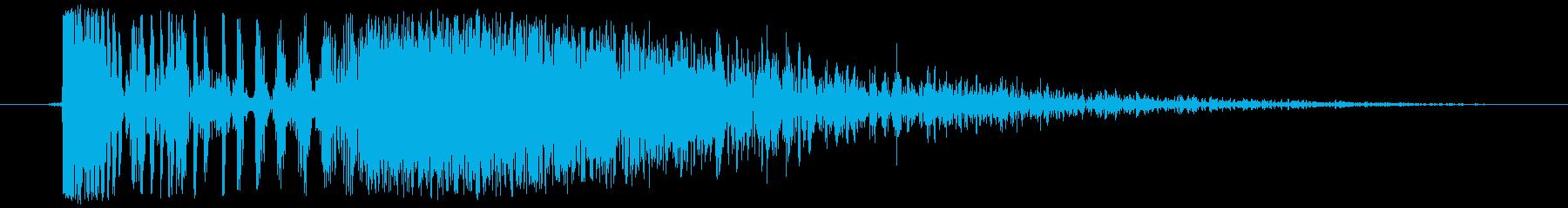 『打撃音/ビシィッ!』格闘ゲームで使わ…の再生済みの波形